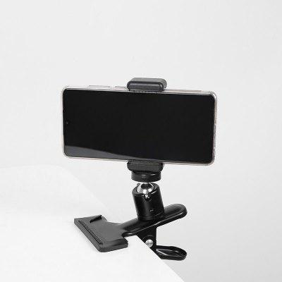 LEEHUR Phone Holder Stand Guitar Head Clip Street Singing Song Holder Musicians Holder Mobile Live Guitar Stand For iPhone Xiaomi Phones Tablets