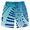 Beach Shorts Fashion Casual Musical Note Round Printing Pattern