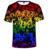Summer 3D Lgbt Creative Design Short-sleeved T-shirt