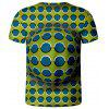 V01067 3D Summer Men Abstract Design Casual Short Sleeve T-shirt