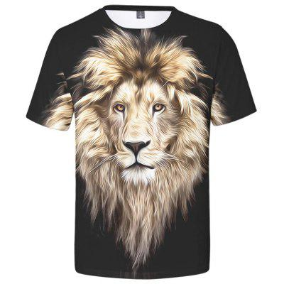 WAWNI Fashion Animal T Shirt