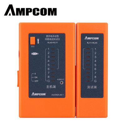 AMPCOM Network Cable Tester Detector RJ45 RJ11 RJ12 network tool  Cable Wire Test Tool
