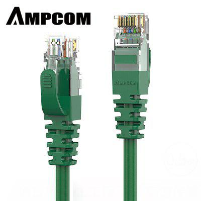 AMPCOM CAT6 Ethernet Cable High Speed Network Cable UTP Gold Plated Snagless  Patch Cord