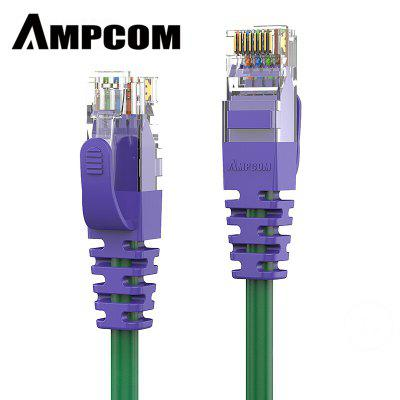 AMPCOM CAT6 Supreme Series Ethernet Cable Network Cable Snagless Gold Plated UTP Patch Cord