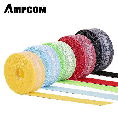 AMPCOM Nylon Cable Straps Hook-and-Loop Cable Fastening Tape Cable Tie Wire Organizer 2m