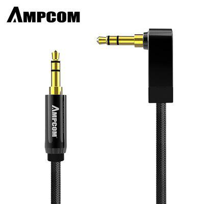 AMPCOM Pro Series AUX 3.5mm Male to Male Audio Cable Stereo Audio Pure Copper Gold Plated