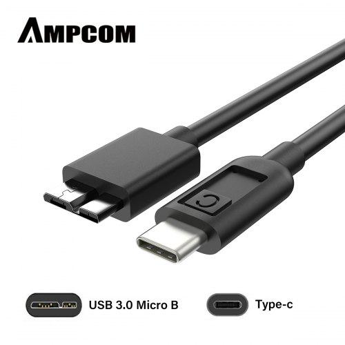 Super Speed Micro USB 3.0 Cable USB Type A Male to Micro B Cable 1M 2M 3M AU