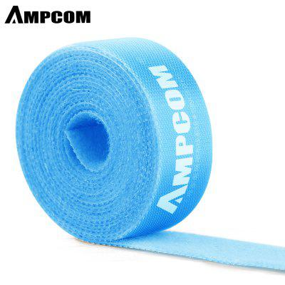 AMPCOM 3m Nylon Cable Straps Hook-and-Loop Cable Fastening Tape Cable Tie Wire Organizer