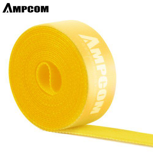 Cable Tie Fastening Tape Hook and Loop Cord Organizer Wire Holder Winder Clip