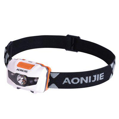 AONJIE E4065 Waterproof Adjustable LED Headlight Headlamp Flashlight Light For Running Camping