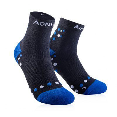 AONIJIE E4092 Running Cycling Athletic Tab Training Cushion Quarter Compression Socks Heel Shield