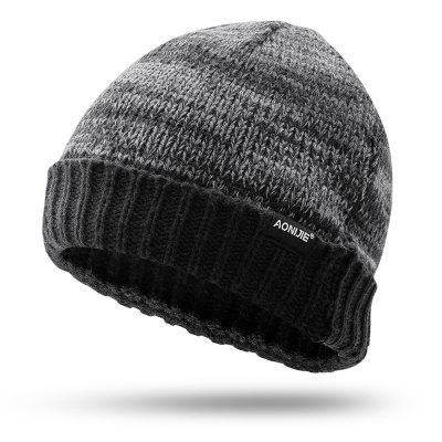 AONIJIE M25 Unisex Winter Warm Sports Knit Beanie Hat Skull Cap For Jogging Marathon Cycling