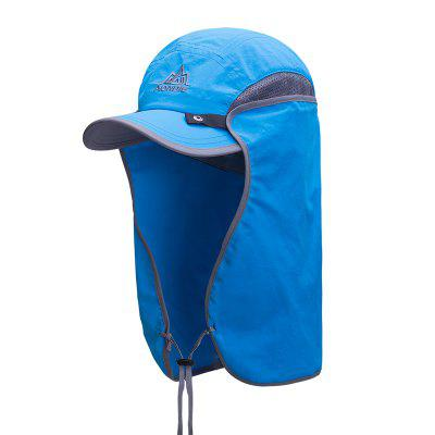 AONIJIE E4089 Fishing Hat Sun Visor Cap Hat Outdoor UPF 50 with Removable Ear Neck Flap Cover