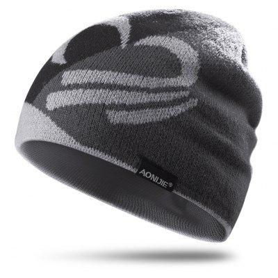AONIJIE M24 Unisex Winter Warm Sports Knit Beanie Hat Skull Cap For Running Jogging Cycling Camping