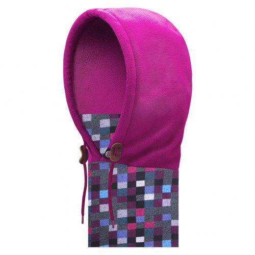 bdd9e8980c9 AONIJIE E802 Unisex Adult Double Layered Winter Thermal Fleece Balaclava  Face Cover Mask Scarf 8-10