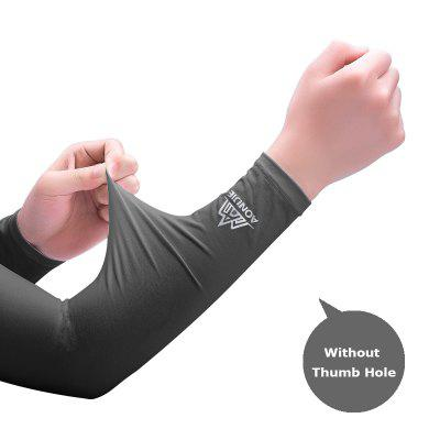 AONIJIE E4036 One Pair UV Sun Protection Cooling Arm Sleeve Cover For Running Cycling Driving