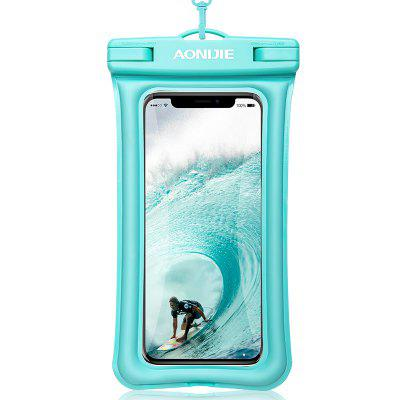 AONIJIE E4104 Floatable Waterproof Phone Case Dry Bag Cover Mobile Phone Pouch For Water Sports