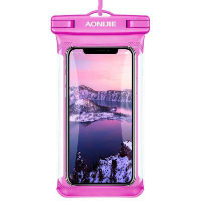 AONIJIE E4103 Full Screen Waterproof Phone Case Dry Bag Cover Mobile Phone Pouch Swimming