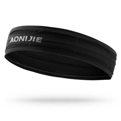 AONIJIE E4086 Workout Headband Non-slip Sweatband Wrist Band Soft Stretchy Bandana Running Yoga