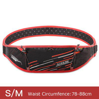 AONIJIE W952 Slim Running Waist Bag Belt Fanny Hydration Pack Water Bottle Holder For Money Marathon