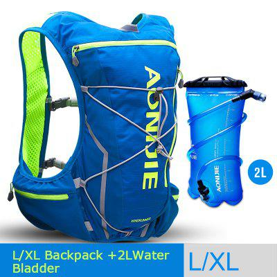 AONIJIE E904S 10L Hydration Pack Backpack Rucksack Bag Vest Harness Water Bladder Running Marathon