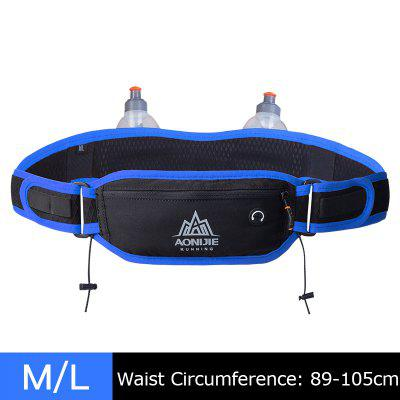 AONIJIE W937 Marathon Jogging Cycling Running Hydration Belt Sportts Waist Bag Pouch Bottle Holder