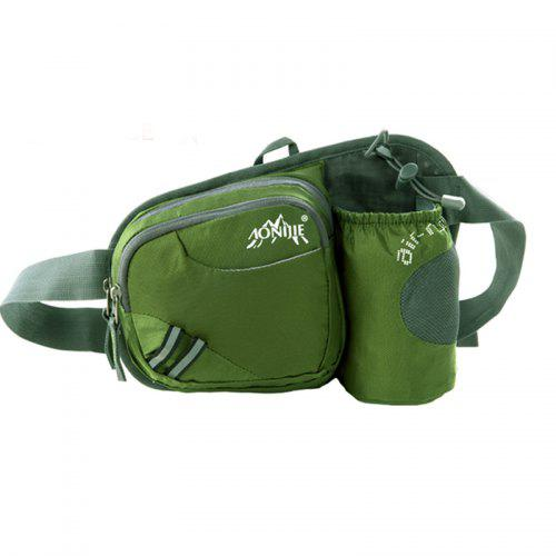 AONIJIE Hydration Running Belt with Bottle Holder Adjustable Waist Bag hydration Pack Running with 2 Water Bottles