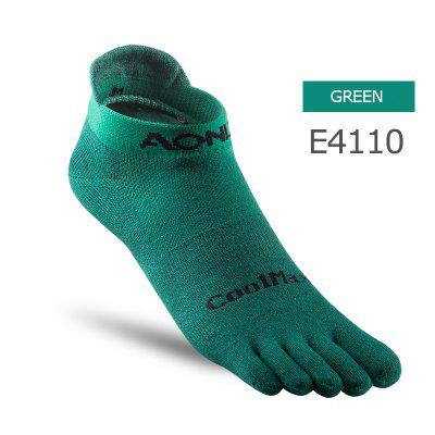 AONIJIE E4110 E4109 Low Cut Athletic Toe Socks Quarter Socks Five Toed Barefoot Running Shoes