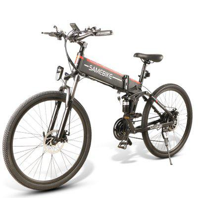 SAMEBIKE  LO26 FT Folding   48V500W   Smart  Electric Bike EU plug