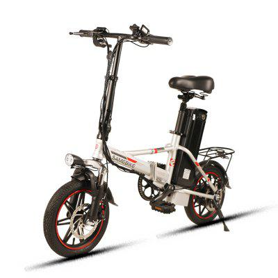 Samebike XMZ1214 Smart Folding Electric Moped Bike New style E-bike US plug