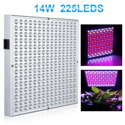 Excelvan 14W 225 SMD LED Hydroponic Plant Grow Light and Lighting Panel