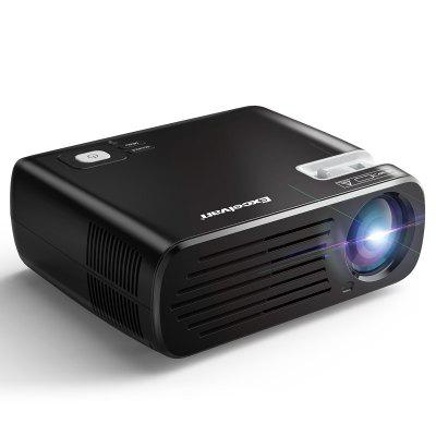 Excelvan BL23 Projector 2600 Lumens Multimedia Projector Support 1080P  For Home Entertainment