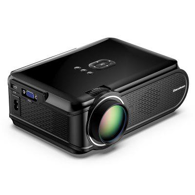 Excelvan Portable Mini LED Multimedia Projector 800 480 Support 1080p  For Home Cinema Theater