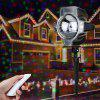 Lampwin Projector Light RGB Maple Waterproof Landscape Projection Decoration with Remote Controller