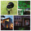 Lampwin Christmas Outdoor Red and Green Dynamic Firefly Projector and Starry Lawn Light