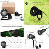 Lampwin Outdoor Red and Green Dynamic Firefly Projector and Starry Lawn Light