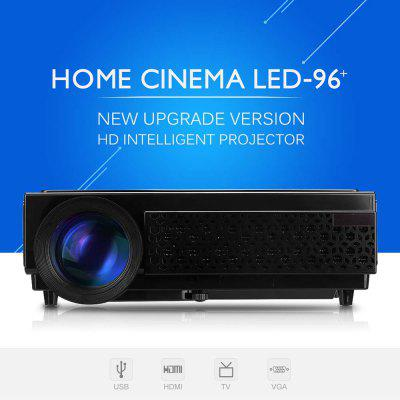 Excelvan 96  Potable Home Theater Projector LCD HD 3000 Lumens LED Projector  Support 1080P HDMI