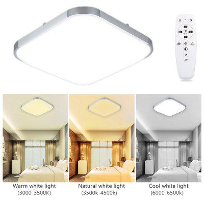 Lampwin 24W  Square Dimmable LED Ceiling Light With Remote Control