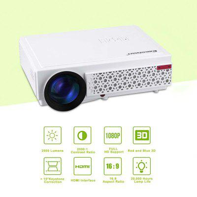 Excelvan 96 Support 1080p Led Projector HD Projector Potable Home Theater Projector