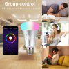 Lampwin WIFI Smart LED Bulb Works with Alexa E27 Dimmable Multicolored LED