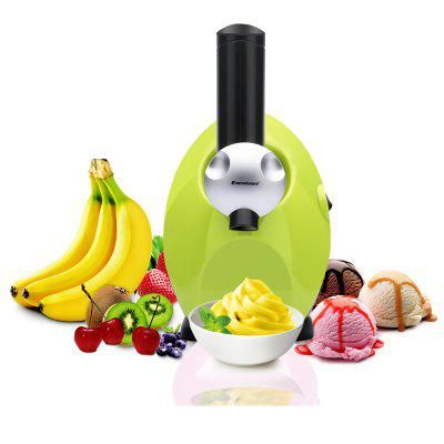 Electric Fruit Ice Cream Maker Freezer Home Made Fro zen Yogurt Smoothie Machine