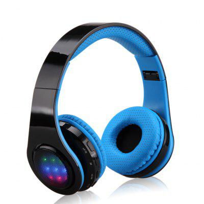 Wireless Head Wear Stereo Sport Bluetooth Headset for phone LG PC Wireless Bluetooth LED Headphones