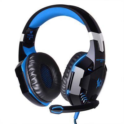 G2000 Gaming Headset Stereo Sound 2.2m Wired Headphone Microphone PC Game