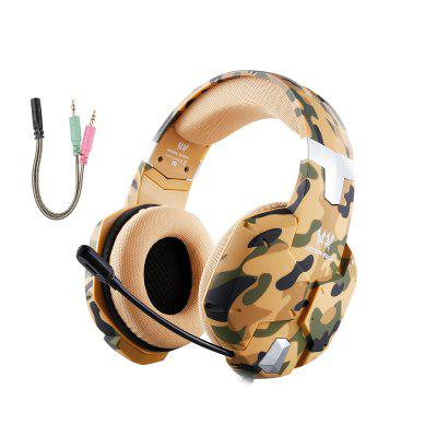 K1 Stereo PC Gaming Headset for PS4 New Xbox One with Mic Camouflage
