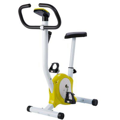 Exercise Bicycle Stationary Upright Bike Cycling Cardio Trainer Home Workout Gym Image
