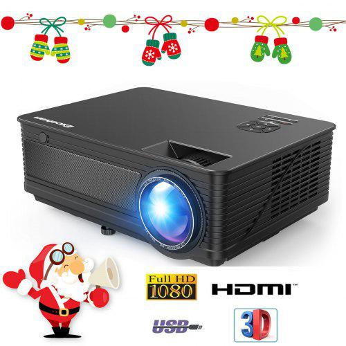 Excelvan 3500 Lumens 2019 Upgraded M5 LED Projector