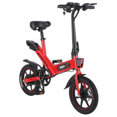 DOHIKER Y1 Folding E-bike Electric Bicycle with...