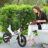 DOHIKER Y1 Folding E-bike Electric Bicycle with 350W 36V Motor 10Ah Rechargeable Battery