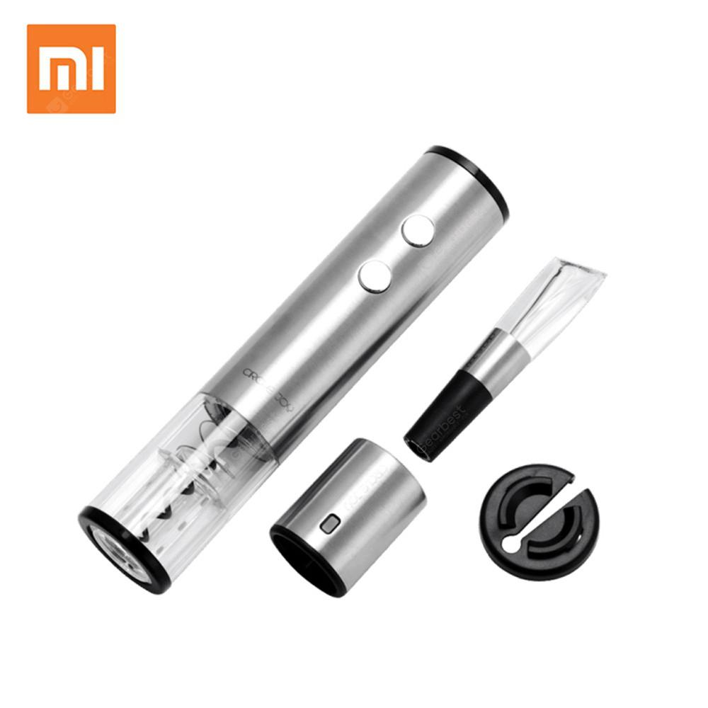 Xiaomi Circle Joy 4-in-1 Red Wine Stopper Electric Bottle Opener Wine Decanter Tin Foil Cutter