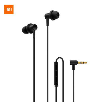 Original Xiaomi QTEJ03JY Hybrid Dual Drivers Earphones Wired Voice Control Earbuds with Microphone
